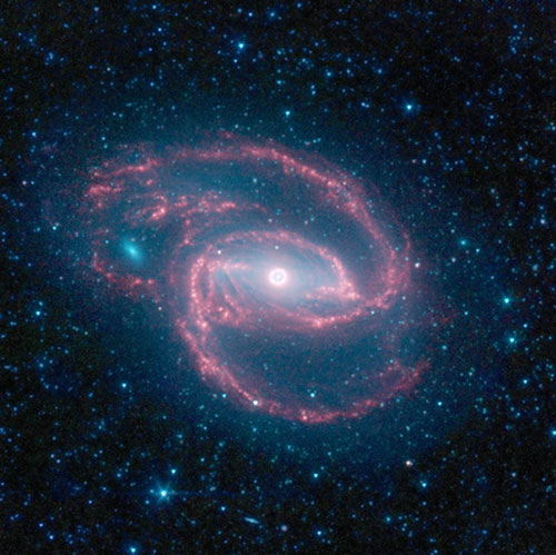 Black Hole Creates Eye in Middle of Cosmic Storm