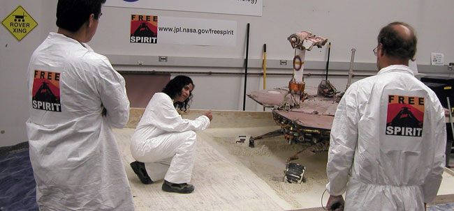 Got an Idea to Save Spirit? Mars Rover Engineers Are All Ears