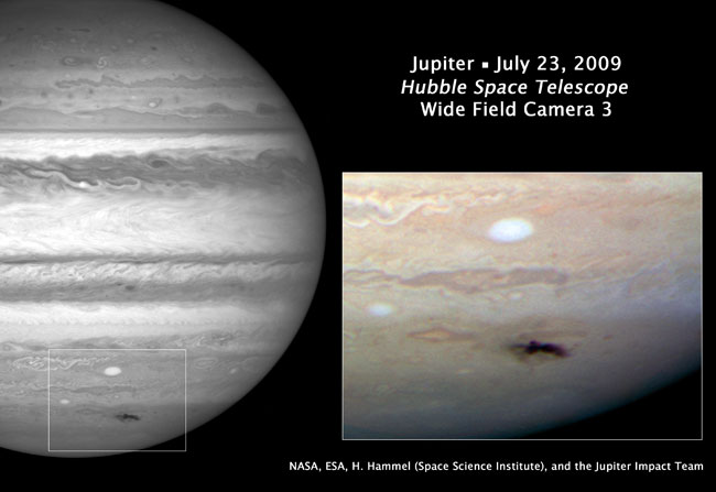 hubble comet and jupiter - photo #1