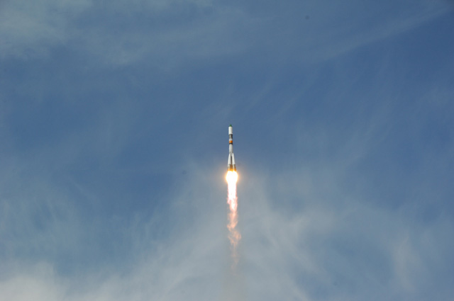 Russian Cargo Ship Launches Toward Space Station