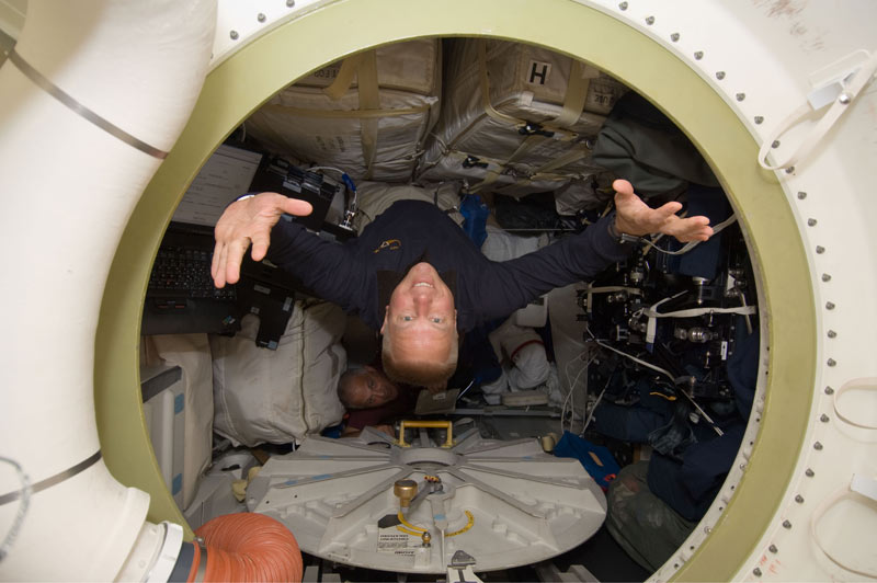 For 13 Astronauts, a Day Off in Space