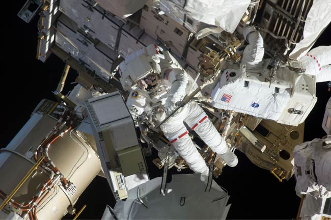 Astronauts to Take Fifth Spacewalk at Space Station