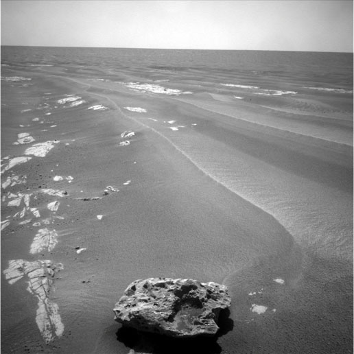 Rover Spots Possible Meteorite on Mars