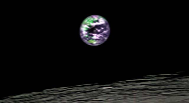 New Photos: Earth from the Moon
