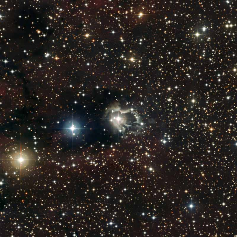 New Image Reveals Nebula's Double Star Heart