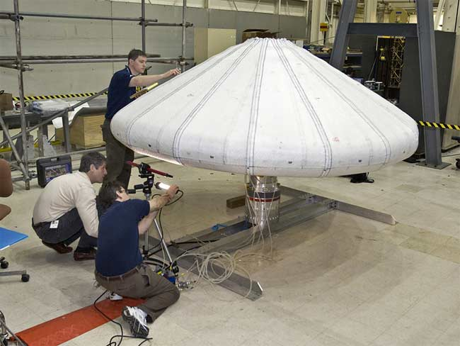 Inflatable Spacecraft Shield Works, Space Test Shows