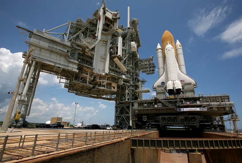Space Shuttle Discovery on Track for Tuesday Launch
