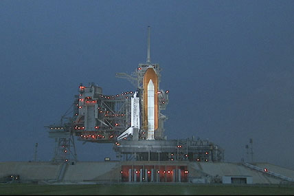 NASA Targets Late Friday Launch for Space Shuttle