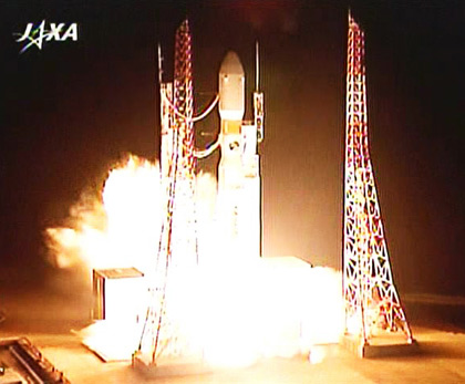 Japan Launches Space Cargo Ship on Maiden Flight