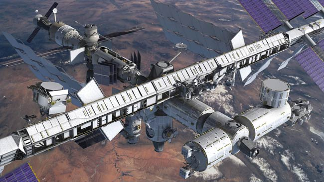 Space Station Experiment to Hunt Antimatter Galaxies