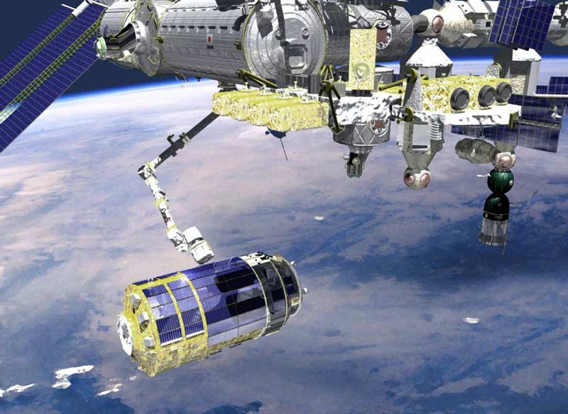 Space Station Crew Set for Japanese Spacecraft's Arrival
