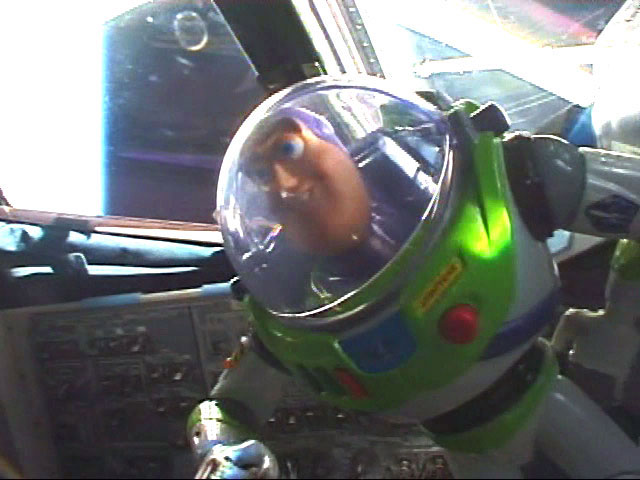 Buzz Lightyear Sets Duration Record Aboard Space Station