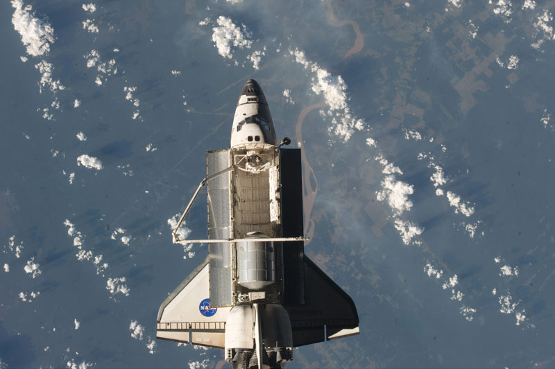 Space Shuttle Discovery Headed For California Landing