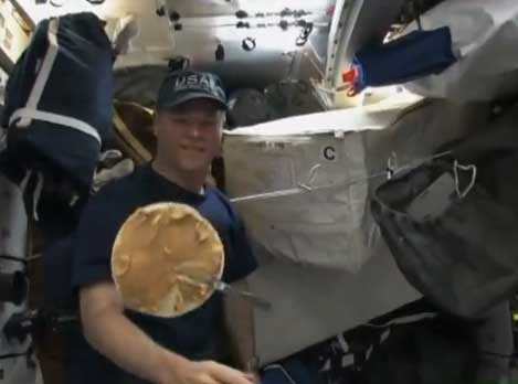 Space Burrito Recipe Revealed by Astronauts