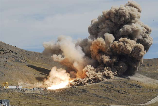 On the Scene: NASA's Huge Rocket Test