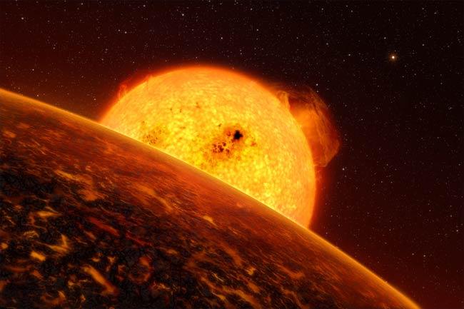 Rocky Planet COROT-7b