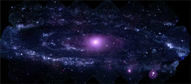 Best UV View Ever of Andromeda Galaxy