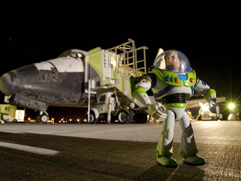 9 Weird Things That Flew on NASA's Space Shuttles