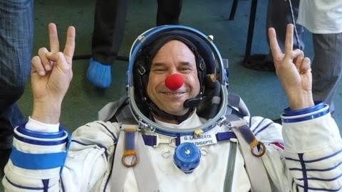 Space Clown to Lighten Mood In Orbit