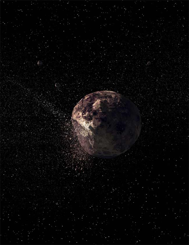 Asteroid Looks Like Planet Wannabe
