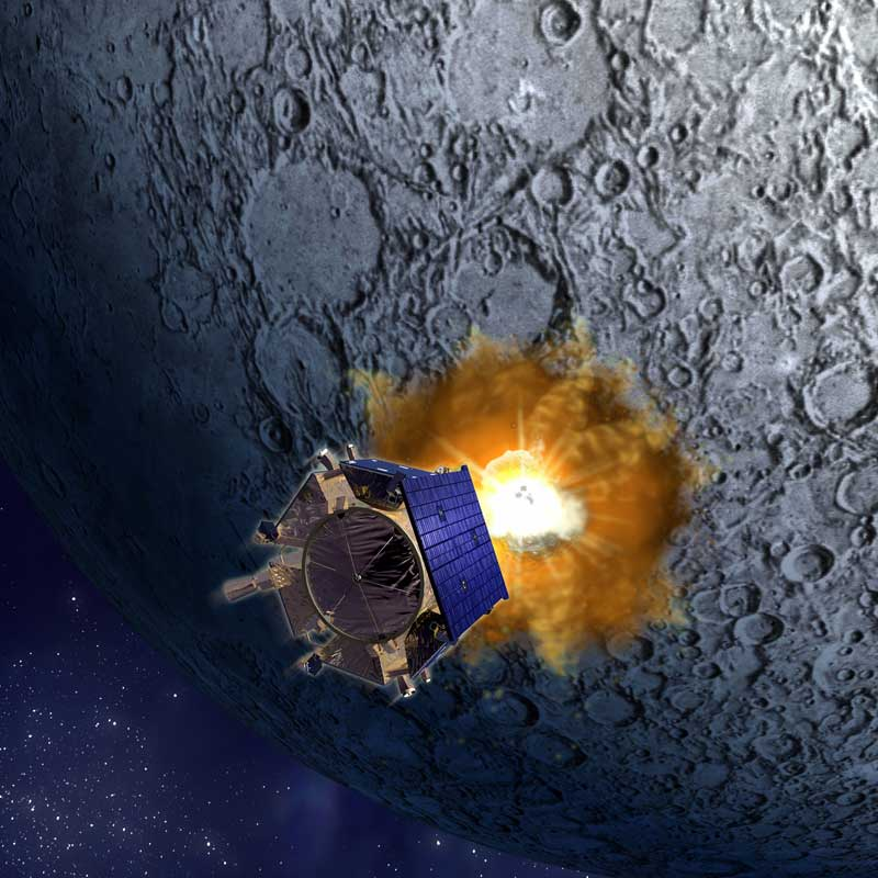 NASA to Discuss Findings Thursday from Lunar Probe's Sacrifice