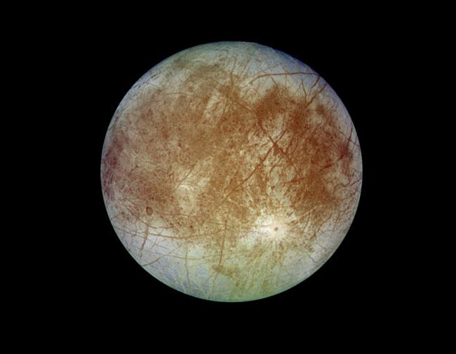 Natural Color Image of Europa