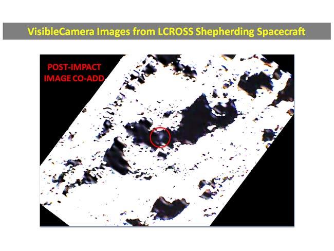 NASA Finally Spots Plume from Moon Impact