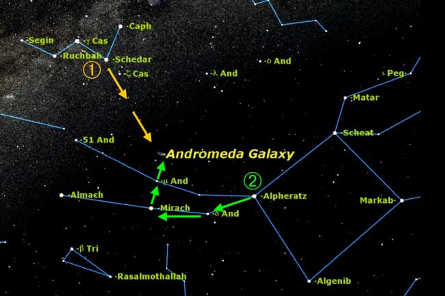 the andromeda galaxy in the winter - photo #28