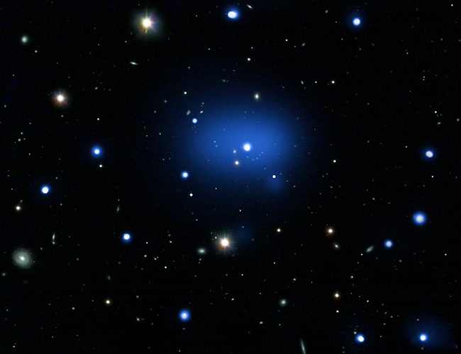 New Record For Most Distant Galaxy Cluster