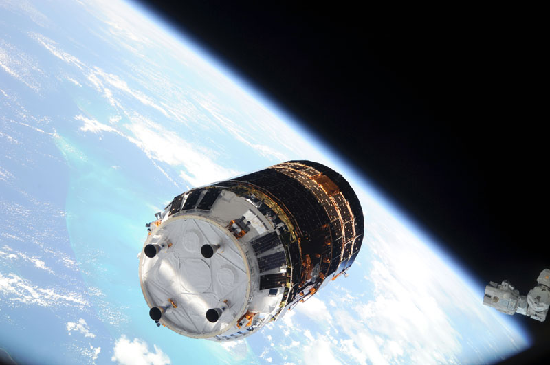 Japanese Cargo Spacecraft to Launch Toward Space Station