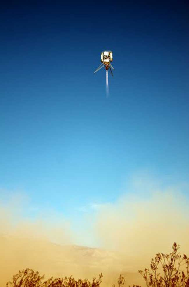 Private Rocket Makers Team Up  to Build Robot Landers