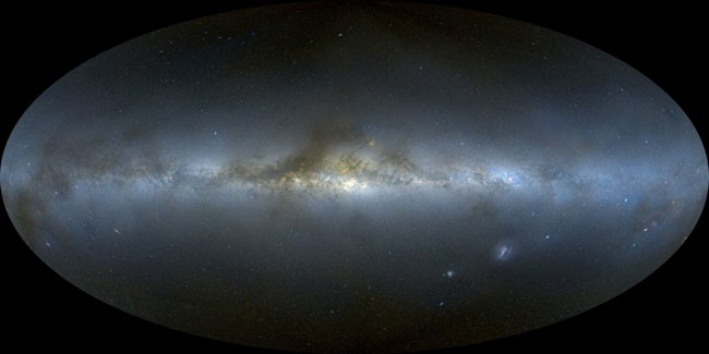 Milky Way Galaxy Is Bent Like a Sombrero