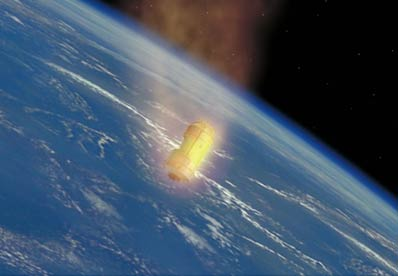 History-making Japanese Space Mission Ends in Flames
