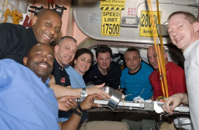 Astronauts Prepare to Leave Space Station