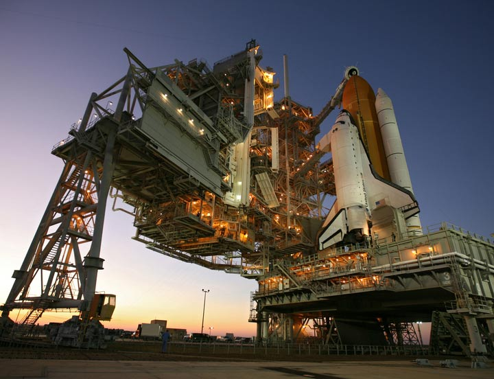 Space Shuttle Atlantis Poised for Monday Launch