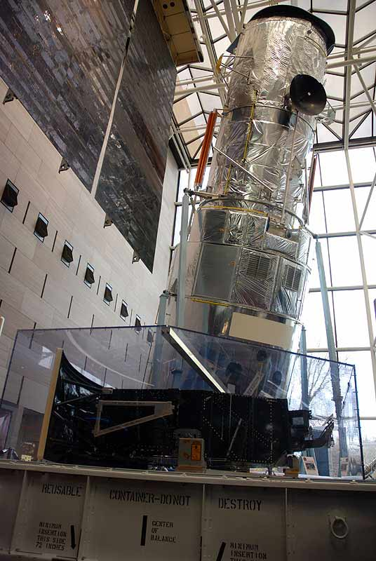 Key Parts Returned from Hubble Telescope Now on Display at Smithsonian