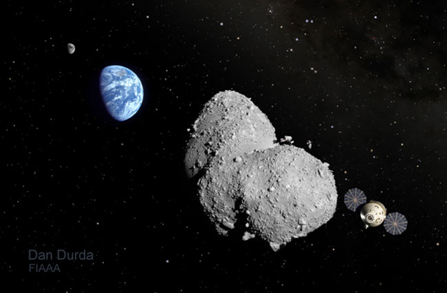 Plan for Human Mission to Asteroid Gains Speed