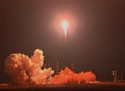 Zenit Rocket Delivers New Communications Satellite to Orbit
