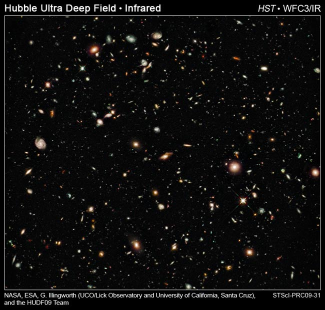 Hubble Telescope Spots Most Distant Galaxies