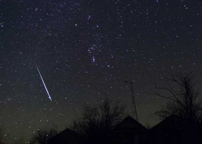 'Gem' of a Meteor Shower Underway