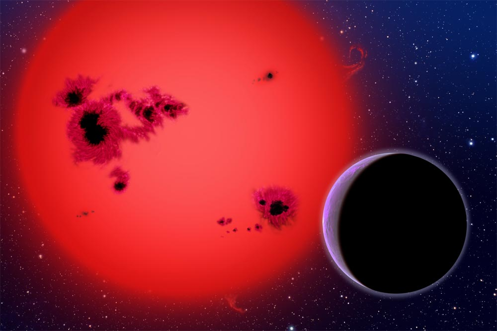 Nearby Super-Earth May Be a Waterworld