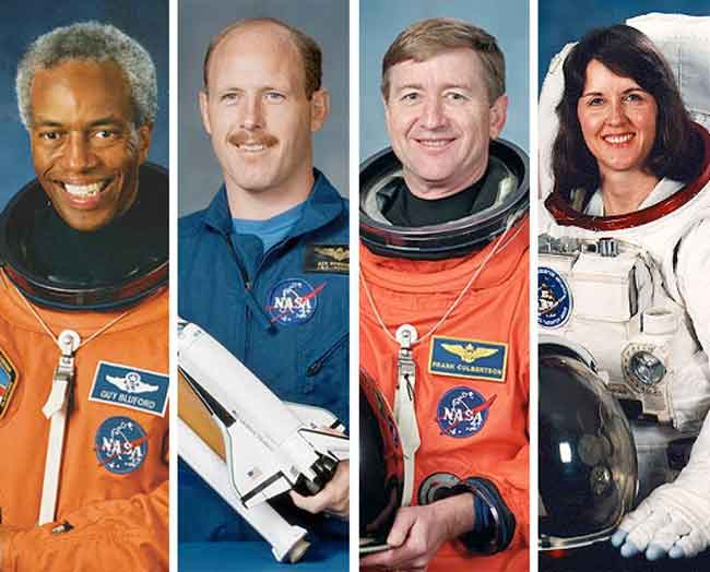 First African-American in Space Among Four Joining Astronaut Hall of Fame
