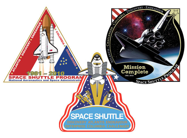 Pick a Patch: Polls Under Way to Select End-of-Shuttle Emblem