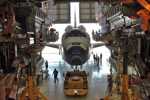 Cocaine Found in NASA Space Shuttle Hangar