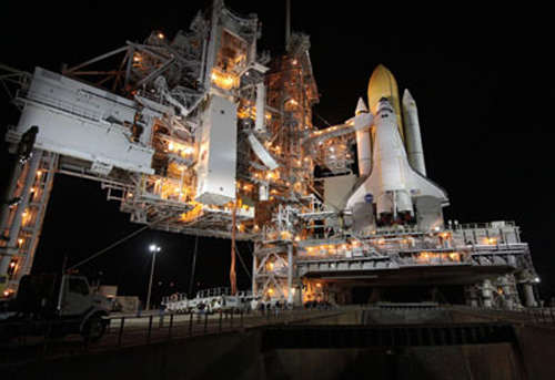 Countdown Going Well for Sunday Shuttle Launch