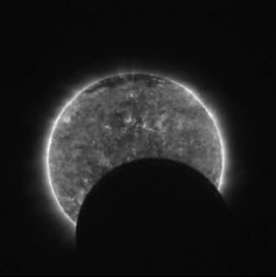New Video Shows Solar Eclipse from Space