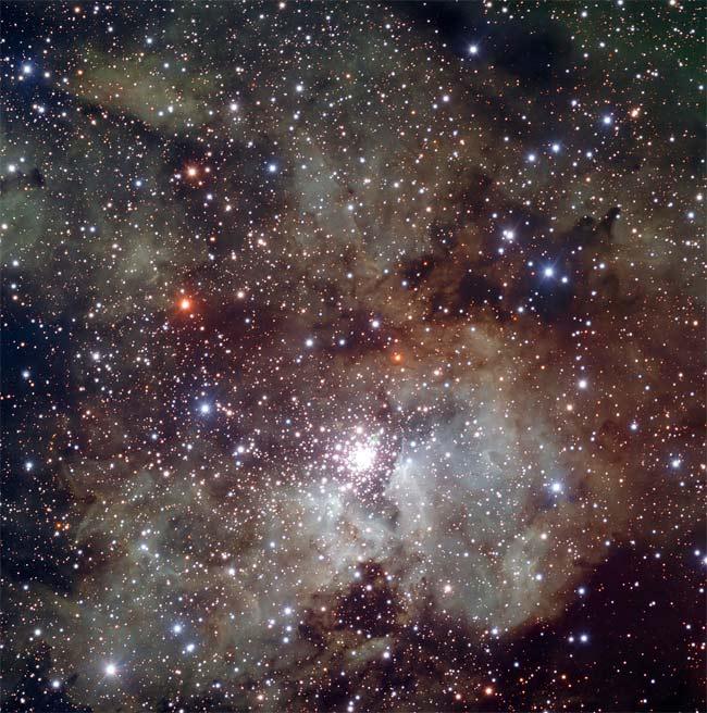 A Star is Born in Nearby Cosmic Nursery