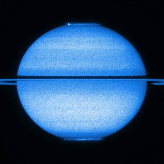 Saturn's Auroras Filmed by Hubble