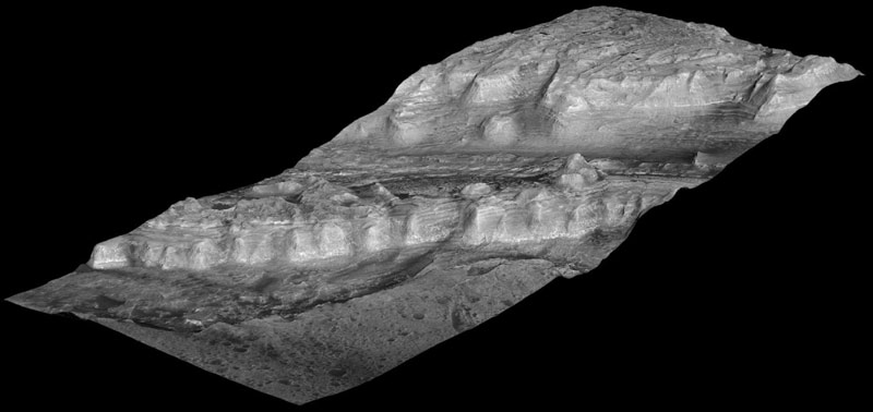 Mars Rock Pile Shows a Layered History
