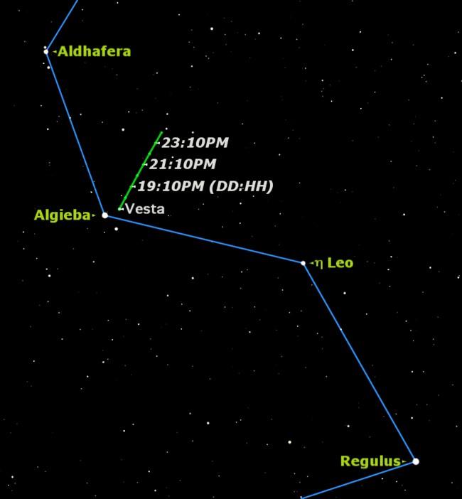 Viewing Vesta: Use Binoculars to Spot an Asteroid